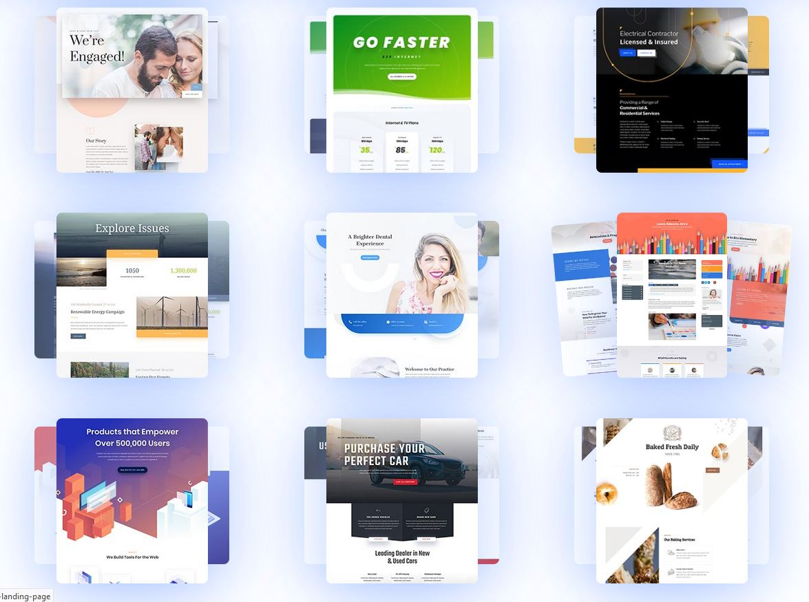 Divi Layout Examples
