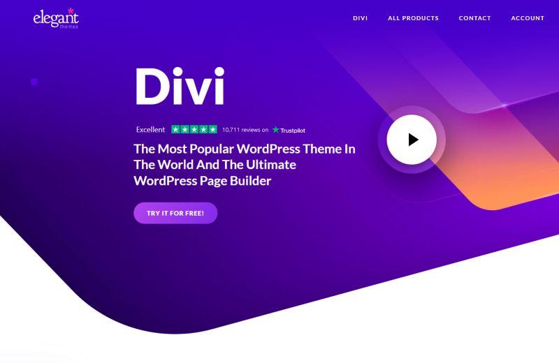 Divi Theme Overview