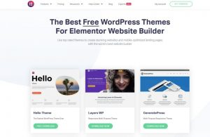 Elementor Theme Overview