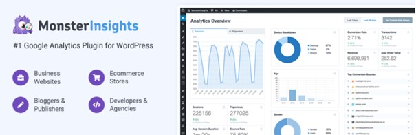 Logo Google Analytics Plugin for WordPress