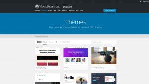 WordPress Themes Wallpaper