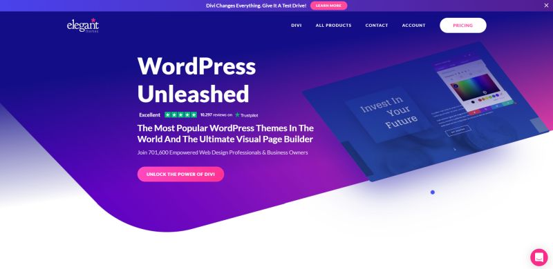 WordPress Website ElegantThemes