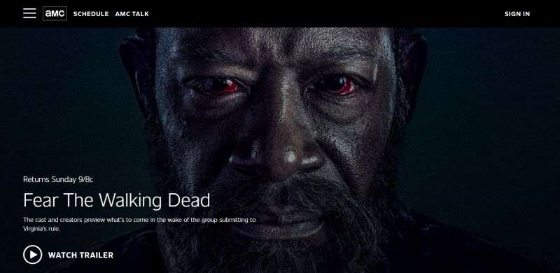 WordPress Website The Walking Dead